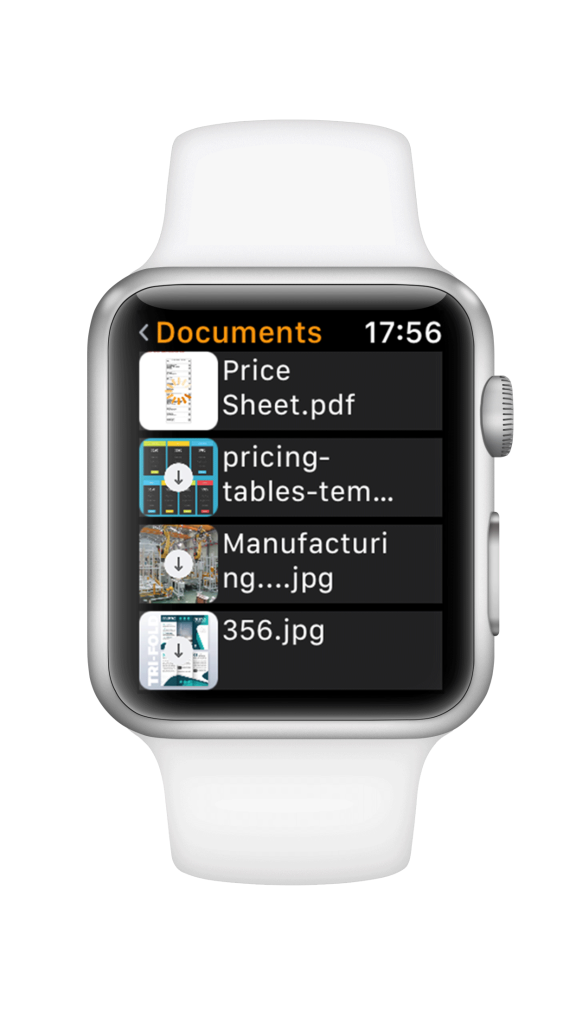 SMACCloud Apple Watch